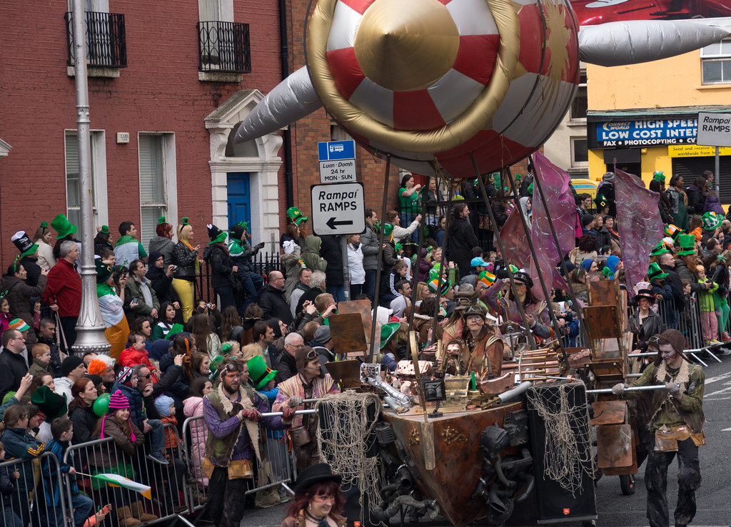 Patrick's Day Parade In Dublin (2012)