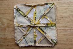 Miniature Double Pinwheel Quilt Block (iriskh) Tags: pattern quilt needlework sewing howto block canonxsi