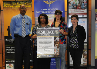 Resilience training aims to build stronger Fam...