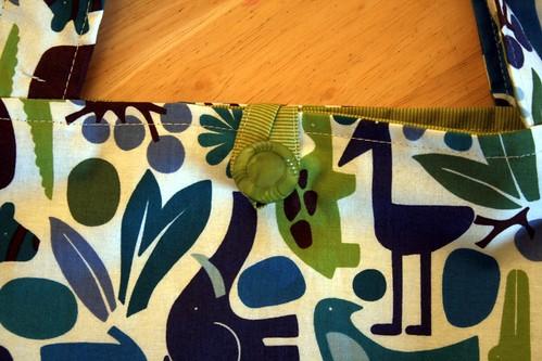 blue boy green modern handmade bookbag 2dzoo