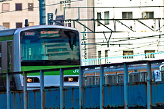 Tokyo (AppleJays) Tags: station japan canon tokyo railway trains jr akihabara yamanoteline japanrail 1100d