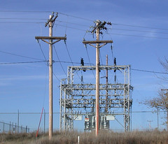 Rural substation [Explored] (NDLineGeek) Tags: