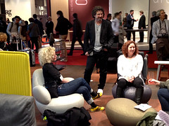 I Salone Internazionale del Mobile 2012 (Bl Station) Tags: milan table chair furniture milano mika bord stol easychair koja puppa ftlj oppo isaloni mbler blstation isaloneinternazionaledelmobile2012