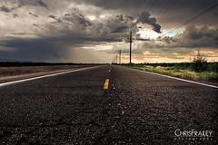 Into The Storm (Chris Frailey) Tags: arizona storm clouds highway desert monsoon drama stormchasing leadinglines blackasphalt