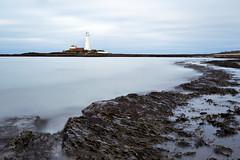 Milky St. Mary's (Chris Lishman) Tags: longexposure light sea lighthouse seascape seaweed coast coastal filters milky stmarys whitleybay stmaryslighthouse stmarysisland leefilters welcomeuk