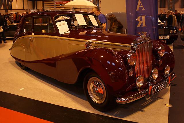 birmingham hooper bentley nec 1953 birminghamnec bentleyrtype 4600cc lancasterinsuranceclassicmotorshow