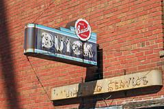 "Illinois, Varna,  Buick ""Valve in Head"" (21,933) (EC Leatherberry) Tags: sign illinois buick autorepair marshallcounty varnailinois"