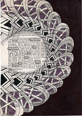 the transformation (Jo in NZ) Tags: foundtext foundpoetry zentangle nzjo thetransformation