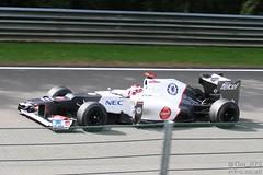 Kobayashi recovers to 13th place (Tim R-T-C) Tags: racetrack racecar sauber motorracing motorsport autosport carracing spafrancorchamps belgiangrandprix kamuikobayashi sauberc31