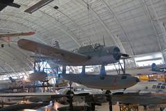 Vought OS2U-3 Kingfisher (Little Chubby Panda) Tags: museum smithsonian aircraft kingfisher airandspacemuseum udvarhazy nasm vought os2u3