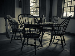 La partie de cartes (CTfoto2013) Tags: light shadow texture window monochrome lines museum architecture contrast lumix glasses chair pattern shadows dof chairs noiretblanc antique interior interieur peaceful ombre musee depthoffield panasonic indoors lumiere serenity tavern oldfashion contraste serene minimalism contrasts chaise intimacy fenetre verres ancien taverne cartes pichet minimaliste serein intime paisible serenite intimite gx7 micro43 livingmueseum mirrorlesscamera