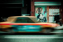 Seul l'essentiel reste (www.danbouteiller.com) Tags: street city longexposure urban streets car yellow japan shop jaune canon eos japanese 50mm restaurant tokyo long exposure magasin ueno taxi streetlife streetscene voiture 50mm14 5d canon5d japon ville japonais streetshot expositionlongue 5dmk2