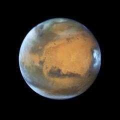 New Hubble Portrait of Mars (NASA's Marshall Space Flight Center) Tags: mars space marshall nasa solarsystem hubble hubblespacetelescope j2m nasamarshall journeytomars nasasmarshallspaceflightcenter