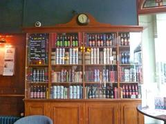 P1140009  Pub Interior - spirits bottles (londonconstant) Tags: peterborough cambridgeshire eastanglia streetscapes promenades cityofpeterborough londonconstant costilondra