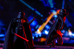 You have failed me for the last time Grandson! (Vimlossus) Tags: toy starwars action darthvader figures acba 6inchblackseries kyloren