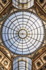view up (the-father) Tags: italy glass milano cupola galleriavittorioemanuele galleriavittorioemanuel