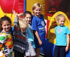 #ThrowbackThursday to our RedemptionKIDS enjoying the inflatables at our All Church Tailgate. We will have inflatables again this Sunday - come join the fun! #tailgate #redemptionokc #edmond #redemptionkids (rcokc) Tags: our church fun this all sunday we have again will join come tailgate enjoying edmond inflatables throwbackthursday redemptionkids redemptionokc