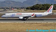 EC-LKX - Air Europa Embraer ERJ-195LR (ERJ-190-200 LR) (Juan Rodriguez - PMI/LEPA) Tags: plane airplane nikon aircraft sigma mallorca palma aeropuerto embraer 80400mm aireuropa d90 sonsanjuan sonsantjoan eclkx pmilepa erij195lr