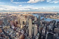 On top of the World...... (Neo7Geo) Tags: nyc bridge brooklyn view manhattan wtc hudson ricorodriguez neo7geo
