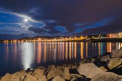 Week 25/52:2016 by PhotoWalk, Dublin- longest day- DSC_0591 (John Hickey - fotosbyjohnh) Tags: longexposure sea moon reflections coast seaside meetup fullmoon nighttime photowalk nightphoto eastpier summersolstice sandycove irishsea dunlaoghaire 2016 junemoon strawberrymoon reflectionsinwater 52weeks 52weeksproject june2016 solsticemoon2016