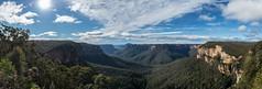 Evans Lookout (Chris Smearing) Tags: panorama mountains landscape waterfall nationalpark australia bluemountains