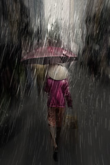 Rain in the sun (Gianstefano Fontana Photography) Tags: street rain fineart streetphotography