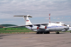 RA-76509 Ilyushin IL-76T Aeroflot (pslg05896) Tags: aeroflot kja unkl ilyushin krasnoyarsk krasair yemelyanovo il76t ra76509