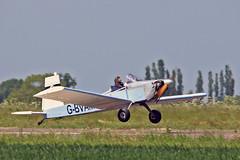 "G-BVAM Evans VP-1The Breighton VP-1 Group Sturgate Fly In 05-06-16 (PlanecrazyUK) Tags: sturgate egcs ""fly in"" 050616 ""lincoln aero club ltd"" gbvam evansvp1 thebreightonvp1group fly in"