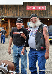 June 11 2016 - Enjoying the bikes and a cold after the run (lazy_photog) Tags: hair beard photography cancer motorcycles run lazy wyoming cody facial elliott bikers photog seasoned worland 061116codycancerpokerrun