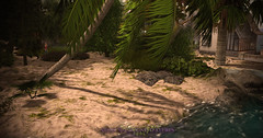 New Ground 3D Texture - Sand with Grass Beach (Vita Camino) Tags: new terrain texture beach grass sand camino ground visit sl secondlife buy builder vita giardini slur 2016