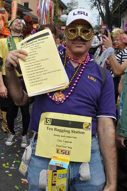 Is Tea Bagging an LSU-sanctioned event?
