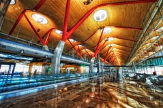 Inside Madrid Barajas (Jim Nix / Nomadic Pursuits) Tags: madrid travel architecture airport spain nikon europe hdr madridbarajas nomadicpursuits