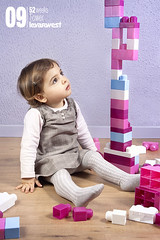 Tower v1 (09/52) (LEVARWEST) Tags: tower girl toy toys purple lego girly mauve fille jouet jouets fillette 52weeks lgo levarwest
