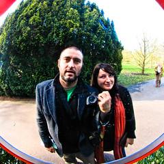 Babak and Niamh