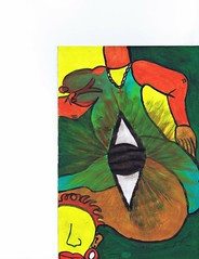 PAP-DAV-18 (moralfibersco) Tags: art latinamerica painting haiti gallery child fineart culture scan collection countries artists caribbean emerging voodoo creole developingcountries developing portauprince internationaldevelopment ayiti