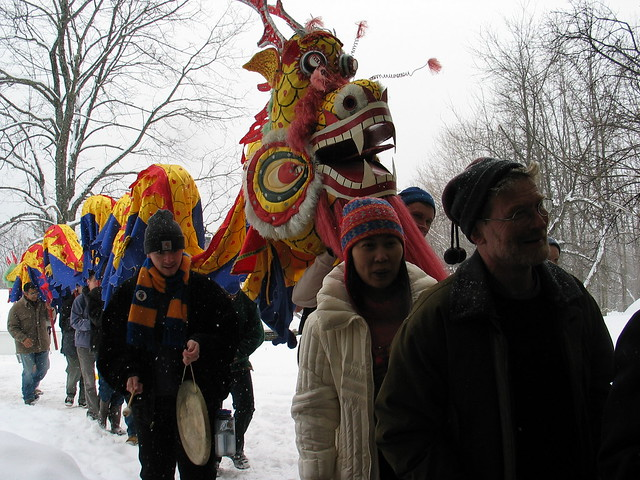 Professors and the Dragon with Seth Harter (Asian Studies) at the Head