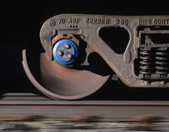 Rolling (Moffat Road) Tags: railroad cliff wheel train truck colorado co pinecliffe unittrain rollerbearing rollingwheel