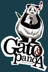 GATO Y  PANDA (EsdrasJaimes-potfolio) Tags: cat panda neko pandacat esdrasjaimes larishemotivegato larishjulio gatoypanda