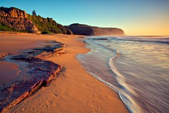 Turrimetta Beach (James.Breeze) Tags: ocean seascape beach water sunrise landscape sand rocks raw waves seascapes sydney australia nsw breeze reef saltwater northernbeaches beachsunrise canonef1740mmf4l bestofaustralia jamesbreeze
