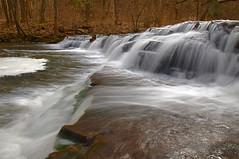 Sunless View Of Postcard Falls (+David+) Tags: waterfall corbettsglen allenscreek twoalike postcardfalls becomingcloudy
