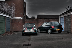 The Mini & Lez (Fiesta) (Andy.Young) Tags: ford fiesta mini 1997 firstcar austinmini classicmini