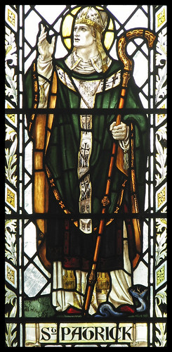 St Patrick expels the snakes by Lawrence OP, on Flickr