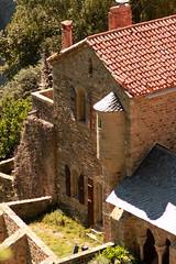 08.09.2011: Besichtigung des in den Bergen gelegenen Klosters Abbaye de Saint-Martin-du-Canigou