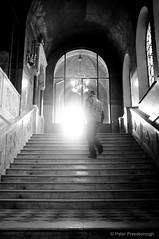 Staircase in Sofia (Peter Pressborough) Tags: street winter church sofia staircase zima bulgary borovets bulharsko