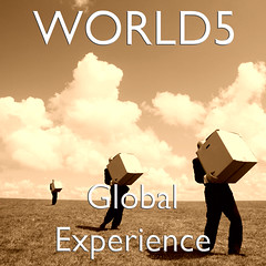 WORLD5 - Global Experience - album front cover (world5music) Tags: