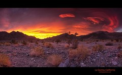 Desert sunrise (esslingerphoto.com) Tags: california orange usa mountains yellow sunrise canon rocks hills laquinta palmdesert ndgrad lakecahullarecreationarea indiomountains