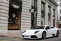 Manual. (Alex Penfold) Tags: auto camera white london cars alex sports car sport mobile canon photography eos photo cool flickr image awesome flash picture 7 super spot exotic starbucks photograph lp spotted hyper mayfair lamborghini coupe supercar spotting km exotica sportscar 2012 sportscars supercars murcielago lambo penfold 640 spotter murci lp640 hypercar 60d km7 hypercars lp6404 alexpenfold