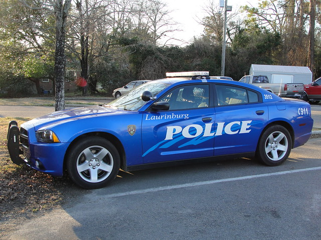 north police pd carolina dodge charger 2012 laurinburg