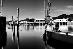 Al lago 2 (White cat ..) Tags: white black water relax lago barca acqua bianco nero vacanza trasimeno tempilunghi