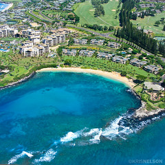 The popular Kapalua Bay in West Maui.